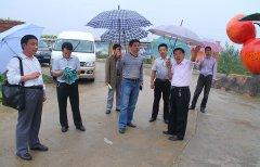 山东省科技厅领导参观BSD示范园