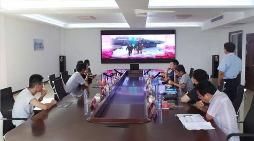 山东省扶贫办调研组及栖霞市政府领导到kok软件达集团进行扶贫调研