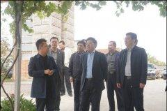 烟台市人民政府副市长张代令到烟台kok软件达农化集团视察