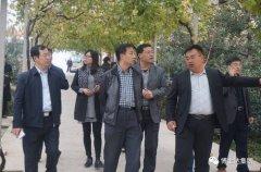 农业部发展计划司副司长时以群视察kok软件达有机苹果示范园
