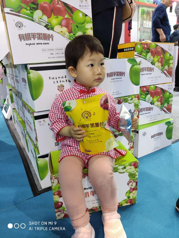 "kok软件达有机苹果、""音乐果园""有机苹果脆片在""第十一届中国旅游商品博览会""顺利展出"