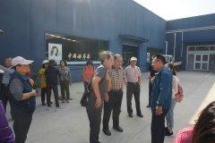 台湾农业考察团到集团参观考察苹果产业